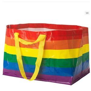 IKEA Large Rainbow Tote Bag